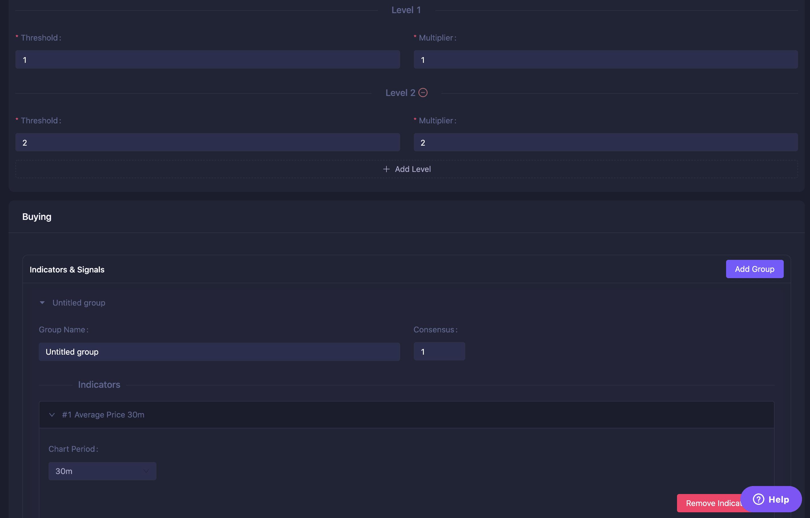 Bot crypto trader